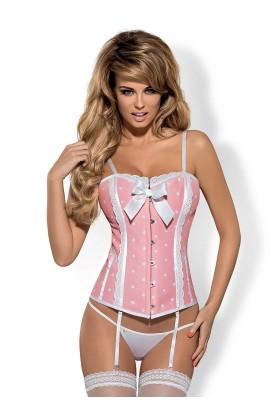 Dottie corset pink