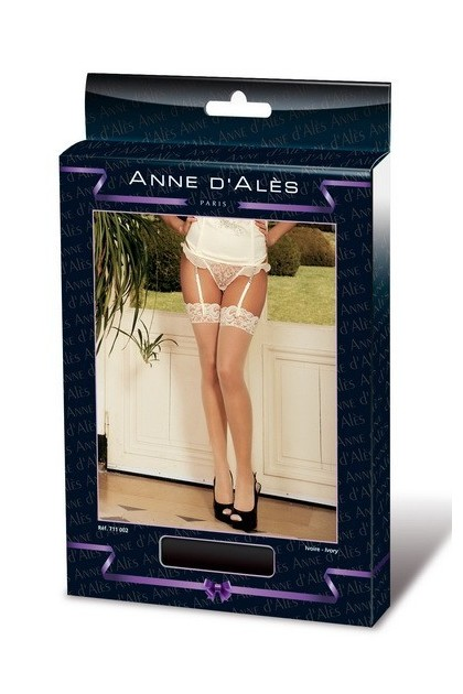 PORTE-JARRETELLE GRAND RETRO PIN-UP - ANNE D'ALES