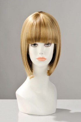 PERRUQUE CHINA DOLL CHEVEUX BLOND MECHES