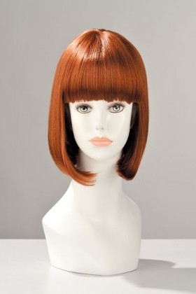 PERRUQUE CHINA DOLL CHEVEUX ROUX