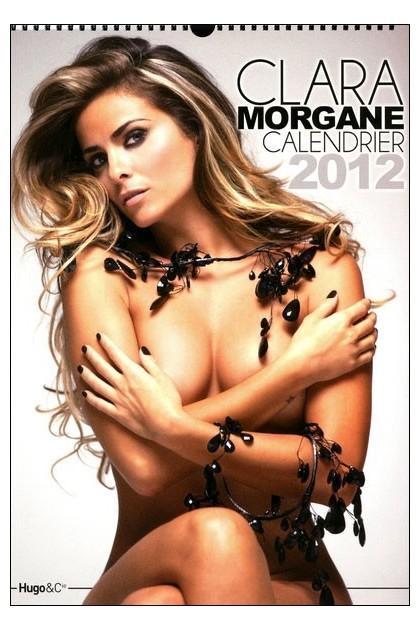 NOUVEAU CALENDRIER MURAL DE LUXE 2012 CLARA MORGAN OFFICIEL