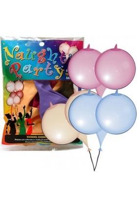 6 ballons en forme de seins
