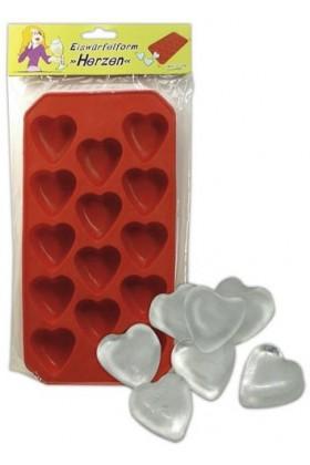 Bac a glacons en forme de coeur