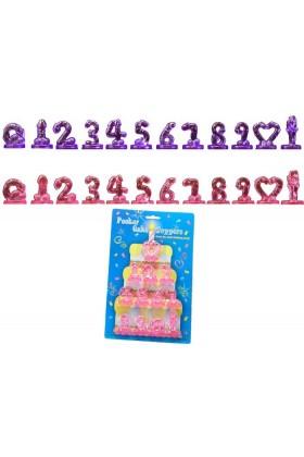 12 décorations pour gateau Happy Birthday forme penis