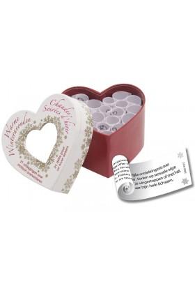 Mini Coeur d'amour Chaudes Soirées d'hiver FR/NL